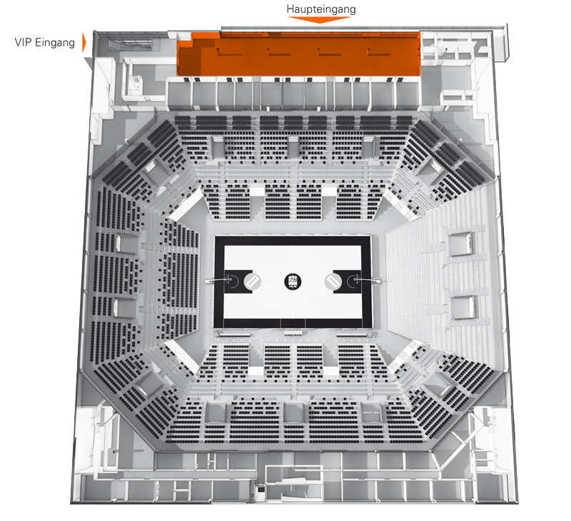 ratiopharm arena - Business Club