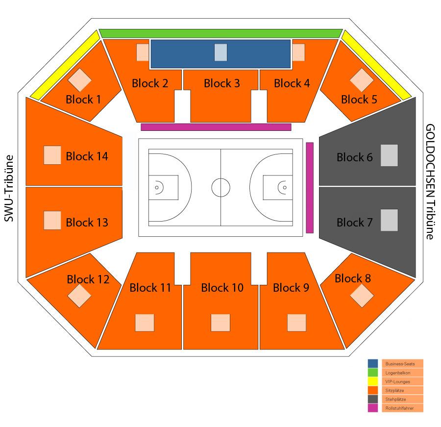 Ratiopharm Arena Ulmneu Ulm Bestuhlungspläne